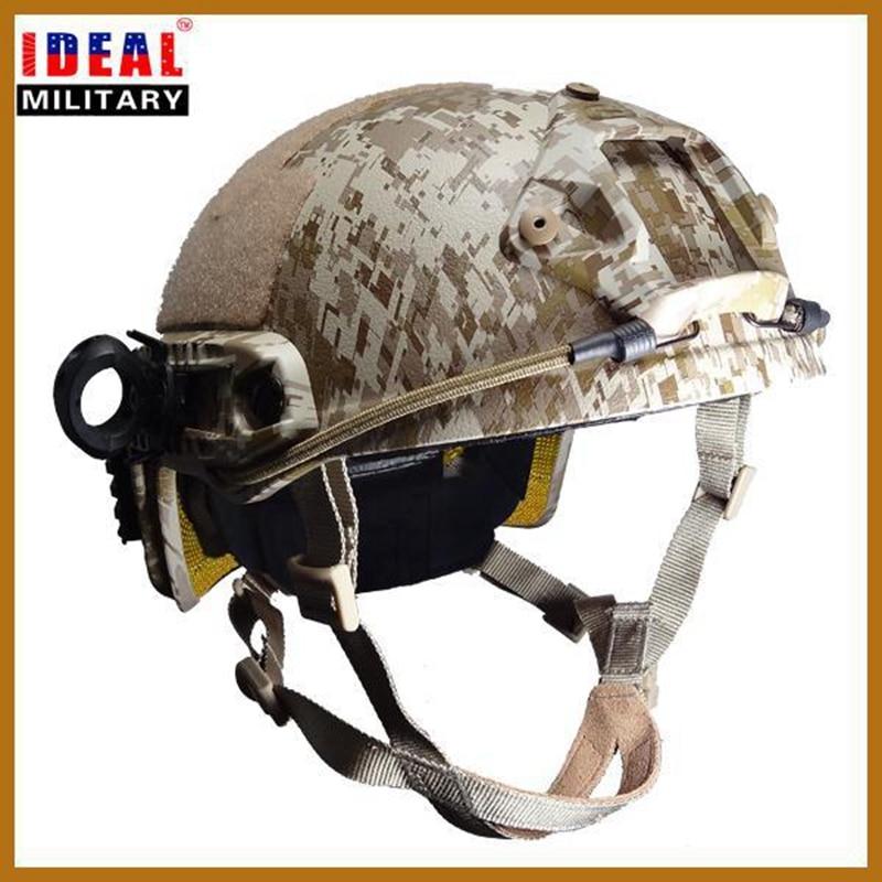 Top tactique NIJ IIIA rapide casque pare-balles chasse Airsoft balistique vélo moto pare-balles casque de Protection