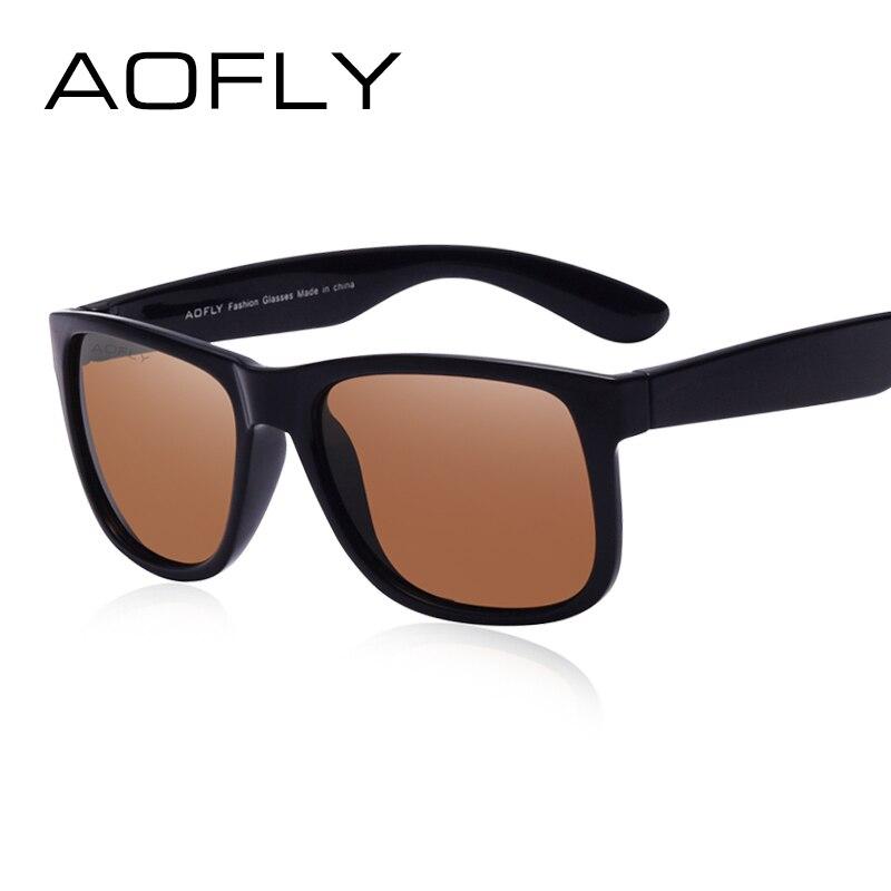 AOFLY vadonatúj polarizált napszemüveg férfi divat TPE keret férfi szemüvegek napszemüvegek kültéri utazás Oculos Gafas De Sol AF6106