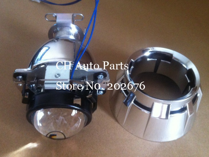 FREE SHIPPING, DLand E46 MATCHBOX MICRO HID BI XENON PROJECTOR LENS, 46MM 1.8 INCH SMALLEST, H4 H7 HEADLAMP EASY INSTALL