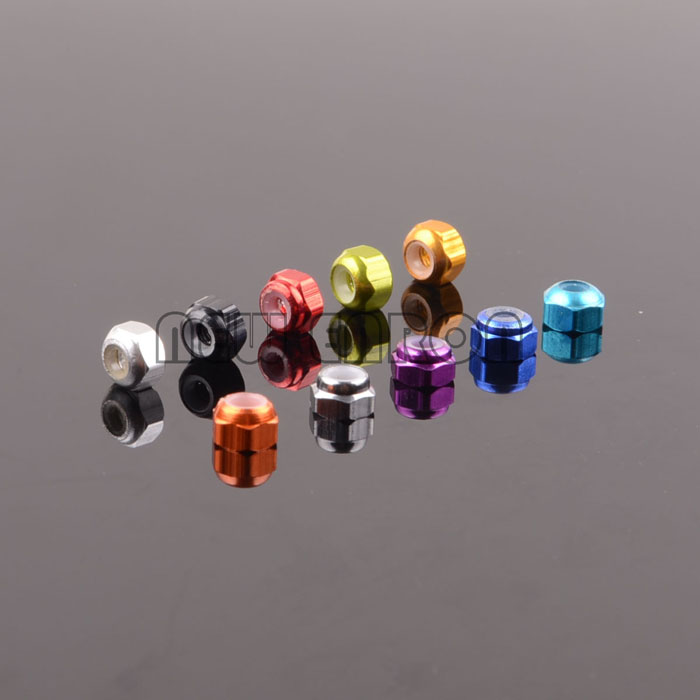 A949-49 M3 Lock Nut Aluminum Tire Nut 8P RC CAR Wltoys A949 A959 A969 A979 For 118