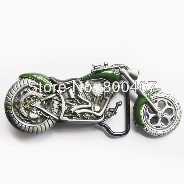 Wholesale Retail Vintage Green 3D Heavy Metal Motorcycle Rhinestone Belt  Buckle BUCKLE-AT072GR In Stock e69da31ab17a