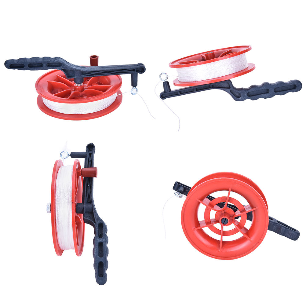 60m Outdoor Ball Bearing Wheel Kite Winder Tool Reel Handle Line String Winder Quality First Kites & Accessories