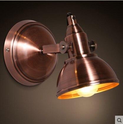 Сельский Лофт Винтаж Промышленное освещение Настенный светильник <font><b>LED</b></font> подсветка для дома Бра arandelas <font><b>aplik</b></font> Lampara сравнению
