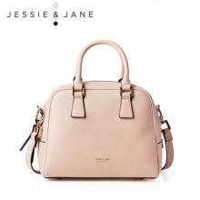 JESSIE&JANE Designer Brand Women's Mini Classic Split Leather Handbags 1219