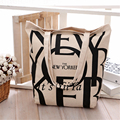 Free Shipping Casual Cotton Shopping Bags Beige Color with Letters Pattern Women Handbags Shoulder Bags HL111