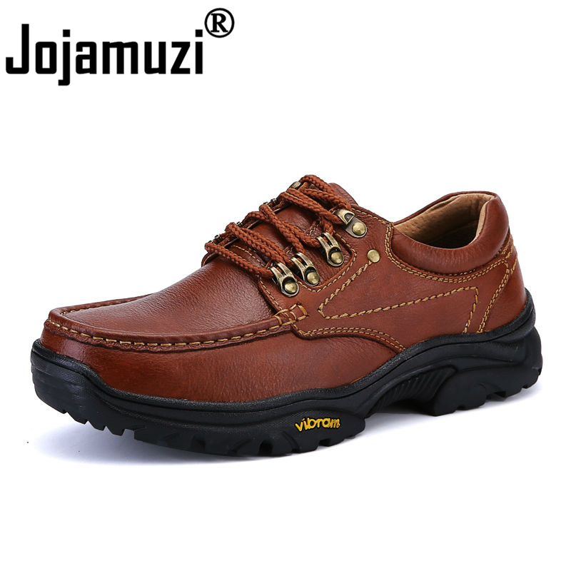 Brand New Bounce Designer Hiking Shoes for Men Working Boots High Quality Men s Genuine Leather