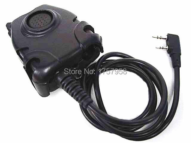 Element / Z Taktički PTT Adapter za Kenwood 2 Pins Radio slušalice - Lov