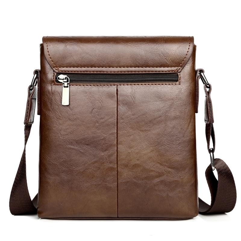 Image 4 - Summer Luxury Brand Kangaroo Messenger Bags Men Leather Casual Crossbody Bag For Men Business Shoulder Bag Male Small Handbag-in Waist Packs from Luggage & Bags