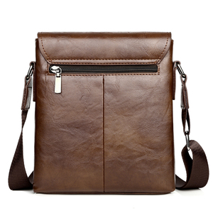 Image 4 - Summer Luxury Brand Kangaroo Messenger Bags Men Leather Casual Crossbody Bag For Men Business Shoulder Bag Male Small Handbag