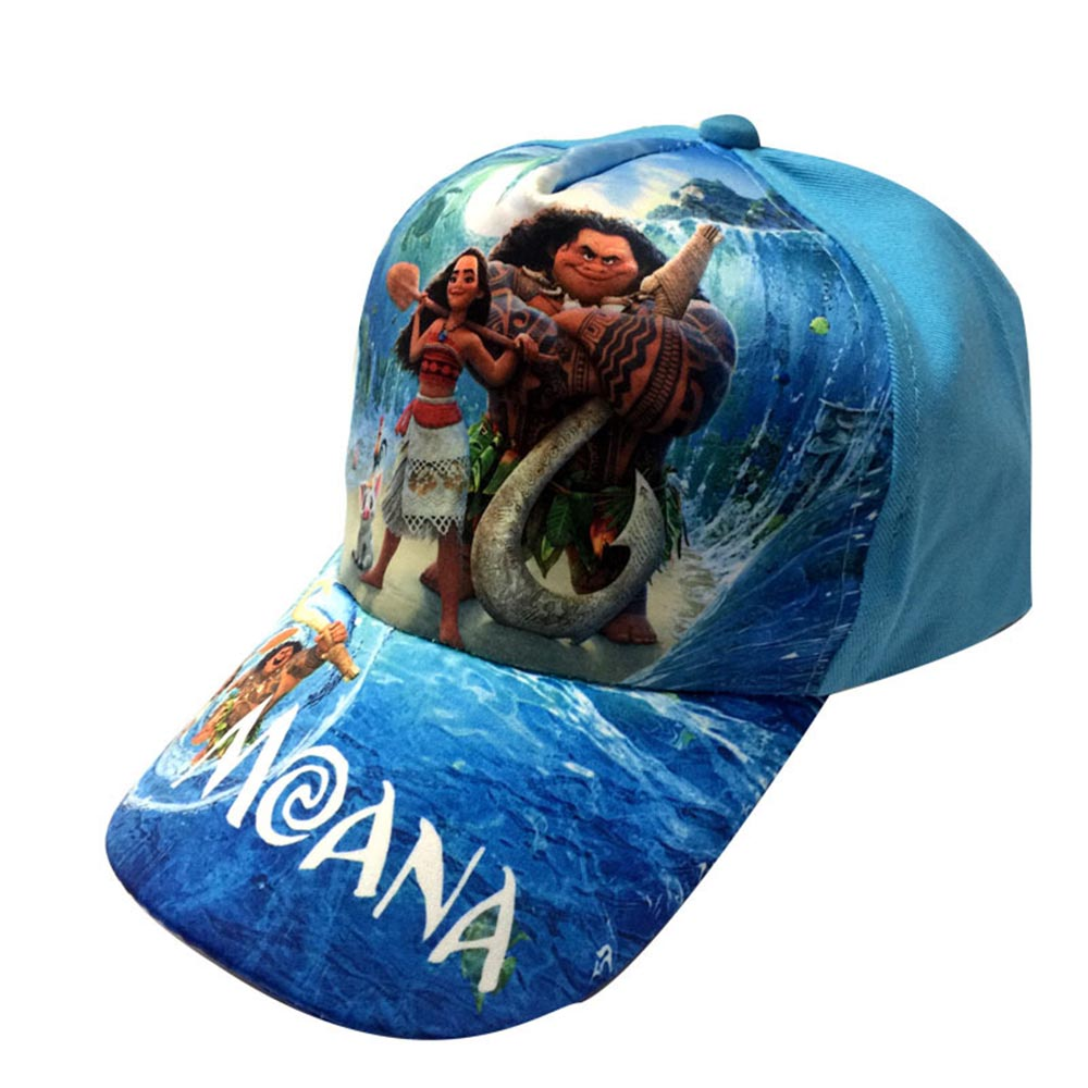2018 Nieuwe kinder cartoon Moana Trolls cosplay Caps meisje Baseball hoed Cool Boy Hiphop trollen cosplay medeplichtige