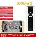 EC3 185 grados lente IPC cámara WiFi de la Cámara IP Panorámica HD 720 P Cámara del monitor del bebé Inalámbrica de Vigilancia CAM 360Eye S cctv