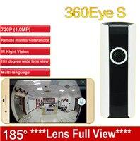 Ec3 185度レンズipc wifiカメラパノラマipカメラhd 720 pベビーモニターカメラワイヤレス監視カム360Eye s cctv