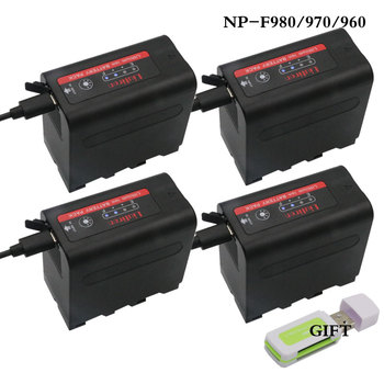 NP F960 NP-F970 NP-F960 NP-F980 NP F980 NP F970 F960 Batteries LED Power Indicator for SONY HVR-HD1000E HVR-V1J NP F960 F770 фото
