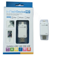 USB Stick Für iPhone X 6 6 Plus 7 7 S ipad Metall Pen Drive Memory Stick Dual Mobile otg Micro 16 GB 32 GB 64 GB 128 GB Pendriv|USB-Flash-Laufwerke|   -