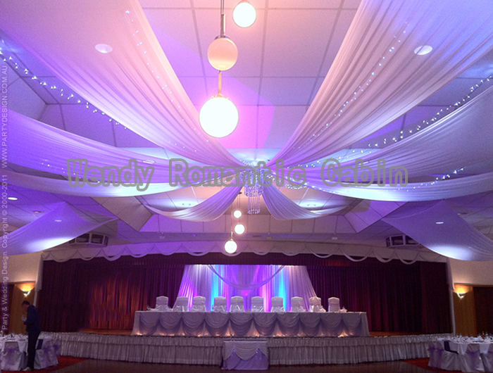 Us 318 66 6 Off 14m Length X 1 4m Wide 8pcs Lot Wedding Party Banquet Decoration Wedding Ceiling Drape Canopy Drapery For Decoration In Banners
