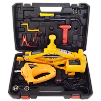 Electric Car Jack 2Ton Electric Scissor Jack 12V DC With Electric Impact Wrench Car Repair Tool