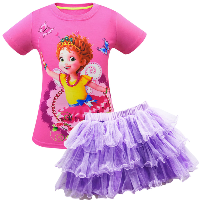 New children 39 s suit fancy nancy beautiful Nancy 3 10y girl short sleeved mesh Halloween performance performance clothing in Girls Costumes from Novelty amp Special Use