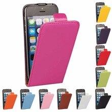 Сплит Кожа Раскладной Телефон Case Easy To Use For iPhone 5 5S SE 6 6 S 6/6 SPlus C1432