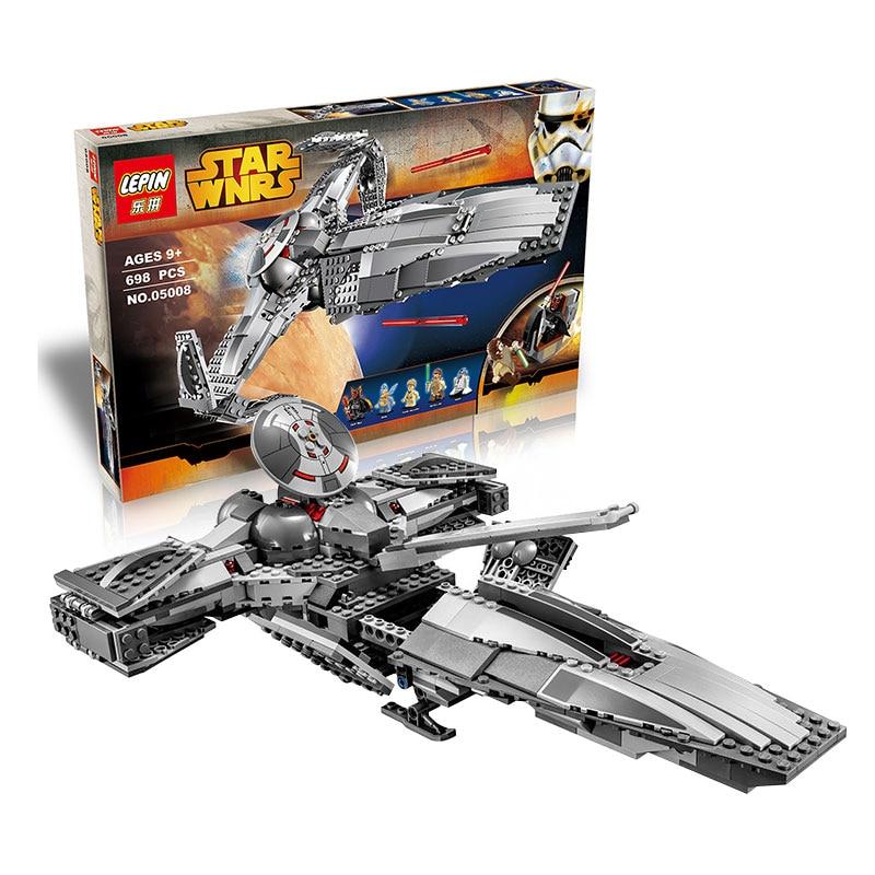 font b LEPIN b font 05008 689pcs The Force Awaken Sith Infiltrator STAR WARS Building