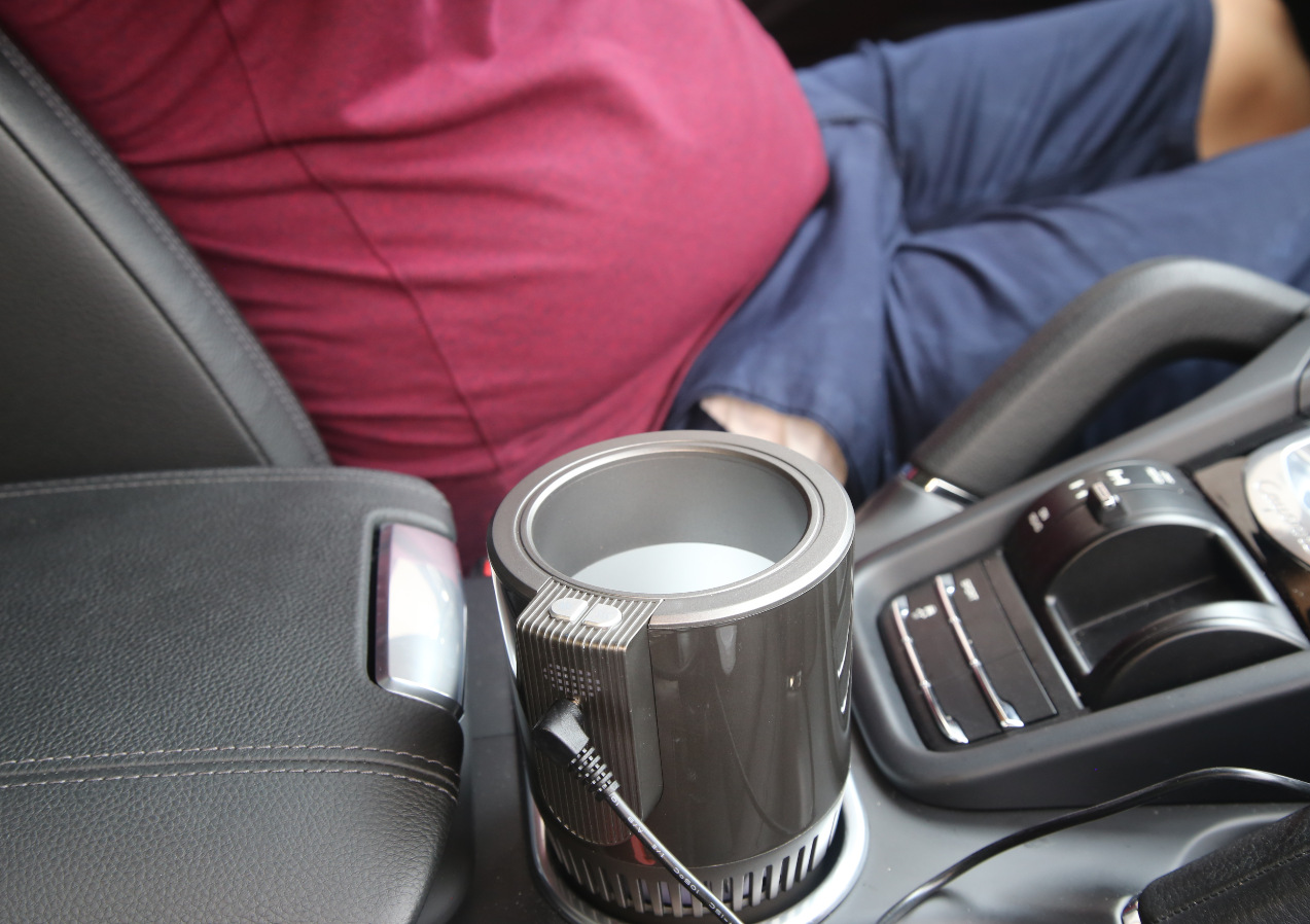 car cup holder cooling and hea