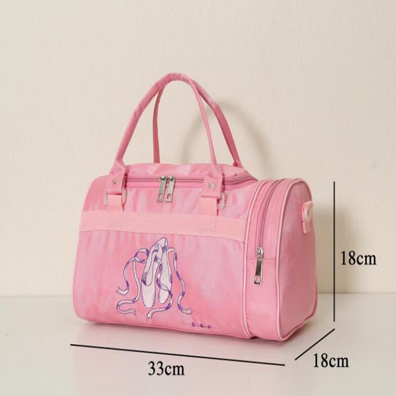 Child Dance Bag Female Backpack Infant Kids Bucket Ballet For S Canvas Pink Ballerina Handbag In From Novelty