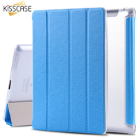 9 7 Leather Case For Ipad 4 3 2 Flip Smart Cover Smooth Touch Silk Skin