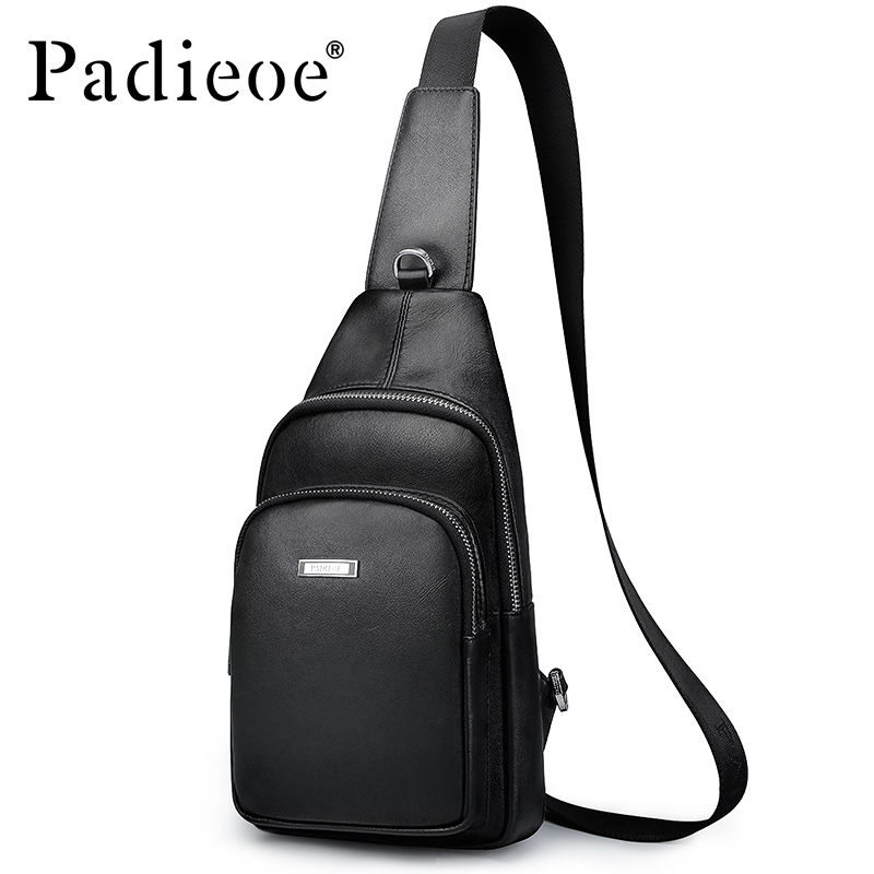 Padieoe fashion luxury brand genuine leather bag business men messenger bags cheat bag one shoulder crossbody shoulder bags padieoe new arrival luxury genuine cow leather men handbag business man fashion messenger bag durable shoulder crossbody bags