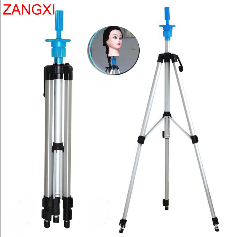 Aluminium Alloy Training Head Tripod Good Quality Dummy Clamp Dolls Head Stand Wig Head Mannequin Head Holder