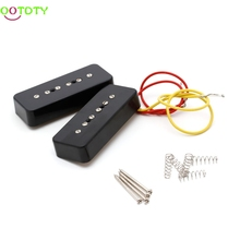 Soap Bar Pickups Black For LP P90 Electric Guitar Facilitated Installation Guitar Parts & Accessories