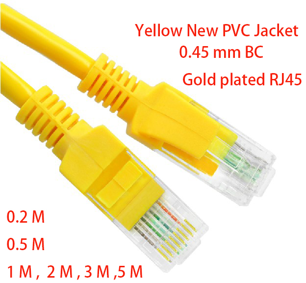 PatchCord 5 Cat5E Yellow