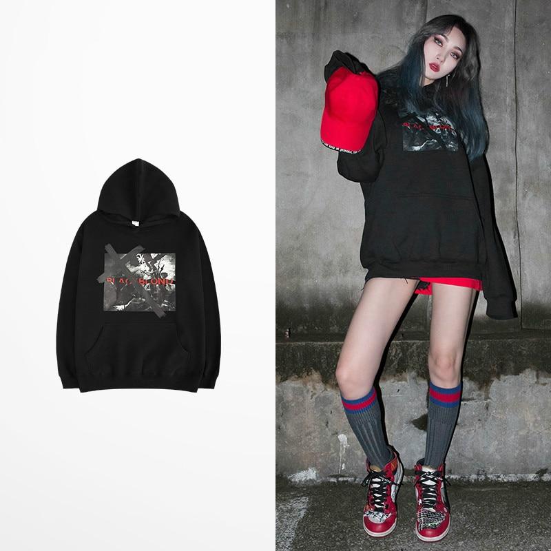 Korean Fashion Hip Hop Hoodies Men 2019 Quality Fleece ...