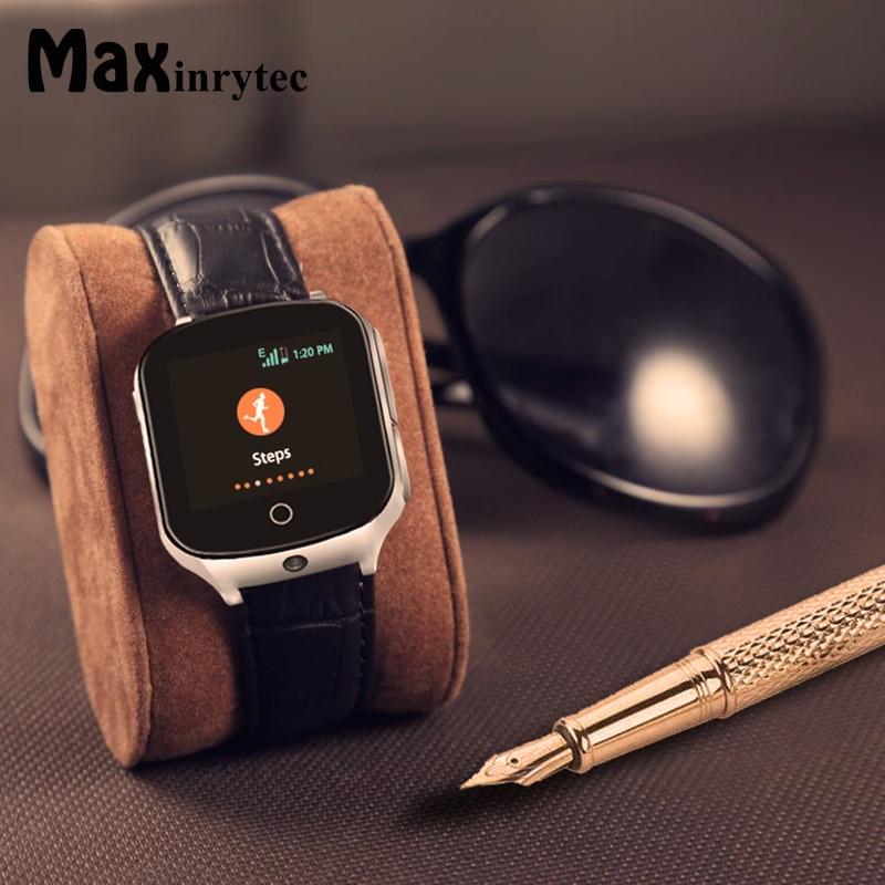 Maxinrytec 3G GPS Watch for Kids Children Adults Tracker Smartwatch With SIM Card WIFI SOS Camera pedometer emergency call A19 сублимационные чернила для epson cyan 100мл