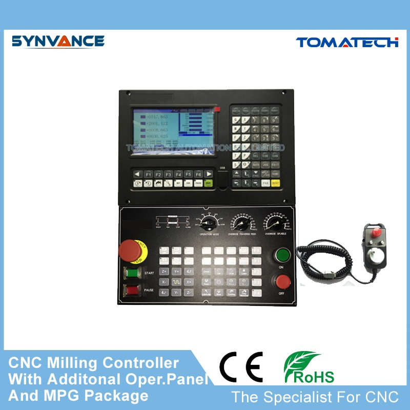 Complete kits high performance 4 axis CNC milling machine controller