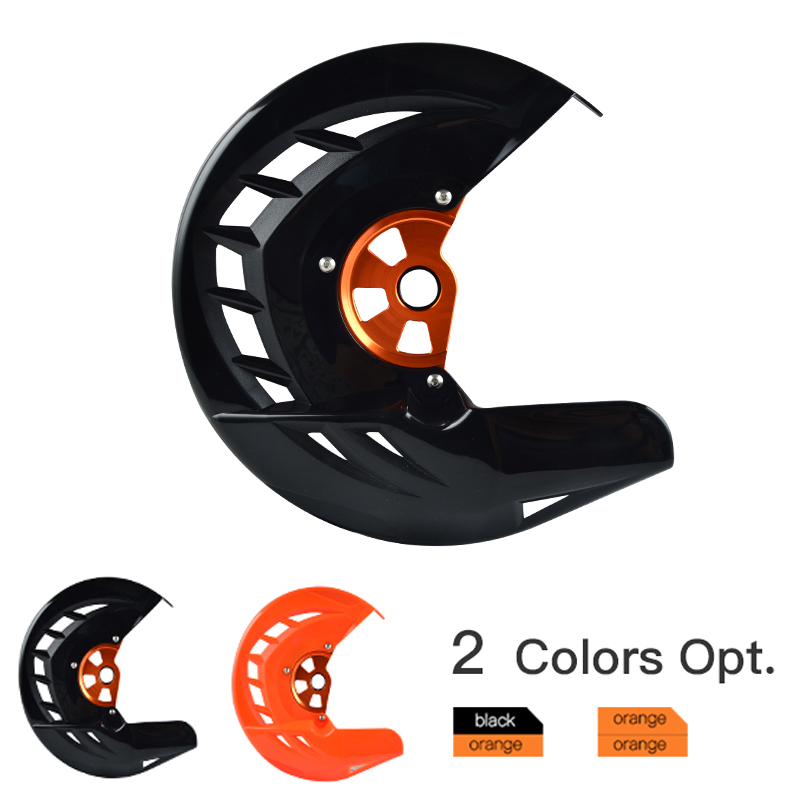 Front Brake Disc Rotor Guard Cover For <font><b>KTM</b></font> 125 150 200 250 300 <font><b>350</b></font> 400 450 500 520 525 530 <font><b>EXC</b></font> <font><b>EXC</b></font>-<font><b>F</b></font> EXCF <font><b>2016</b></font> 2017 2018 image