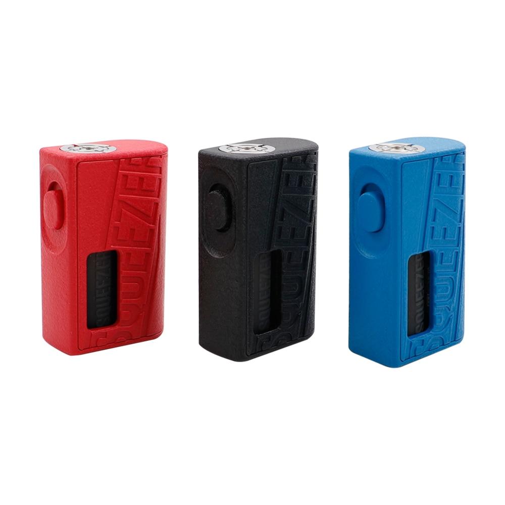 D'origine Hugo vapeur Squeezer BF Squonk E boîte à cigarettes Mod 18650/20700 Batterie Intégré 10 ml de Qualité Alimentaire Bouteille hugo squeezer vaporisateur