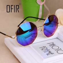 Fashion 2016 Sunglasses Women Men Brand Design Vintage Round Sun Glasses Girl UV400 Female Eyewear oculos de sol TYJ-18