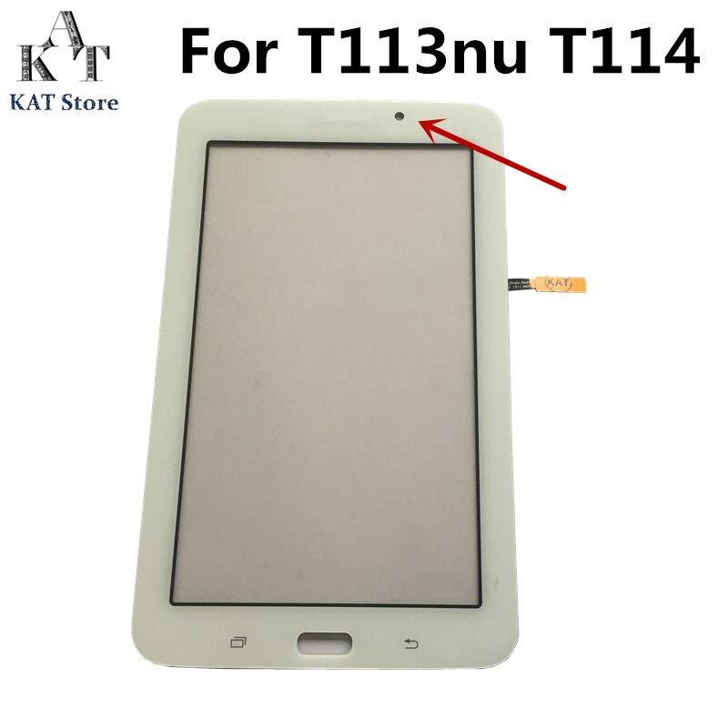 Дигитайзер сенсорного экрана для Samsung Galaxy Tab 3 Lite 7,0 SM-T110 T111 T113 T113 T113 T113nu T116, сменная стеклянная панель, Подарочные инструменты