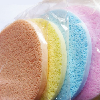 1 Pcs Professional Facial Deep Cleansing Sponge Smooth Sponge Cosmetic Puff Face Care Wash Beauty 4 Colors 8