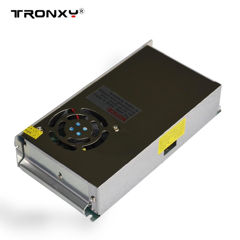 110 V/220 V comutação de alimentação 20A para kit Impressora Reprap Bloco de Poder 3D Tampa De Metal Cheia
