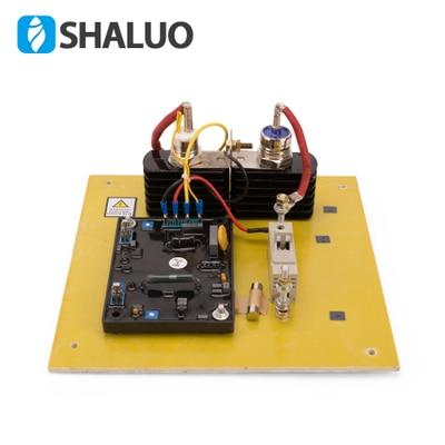 цена GAVR 75A voltage regulator with the rectifier and diode for carbon brush diesel generator SAVRH-75A 220V Single Phase онлайн в 2017 году