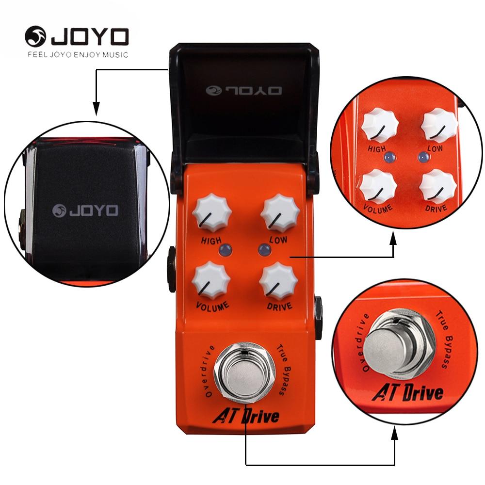 JOYO Ironman Series JF-305 AT Drive Overdrive Mini Effect Pedal True Bypass new aroma adr 3 dumbler dumble amp sound overdrive mini analogue effect true bypass