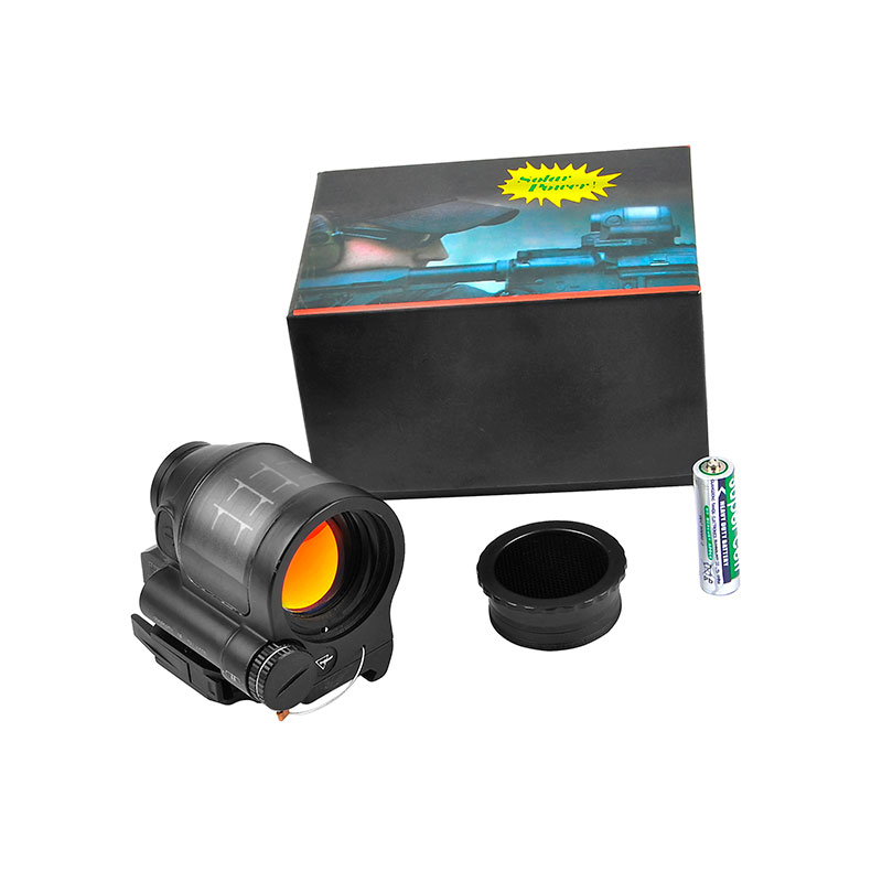 Trijicon SRS Solar Power Red Dot Sight 1X38 Collimator Sight Reflex Sight Scope With QD Mount Optics Rifle Scope Hunting trijicon srs 1x38 red dot sight scope tactical hunting scopes reflex sight solar power system with qd mount optics rifle scope