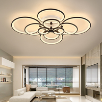 4/6/8/10 heads Aluminum Anodized LED Ceiling lamps Home & Commercial Office Interior Dimming Ceiling Lights Lighting fixture