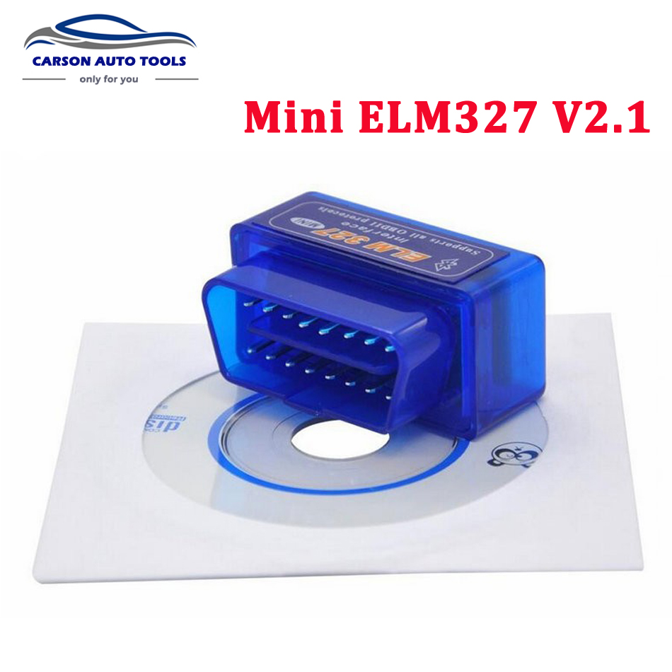 2018 Super Mini ELM327 Bluetooth Adapter ELM 327 V2.1 Auto Code Scanner Car Diagnostic Tool OBD2 Elm327 Support OBDII Protocols