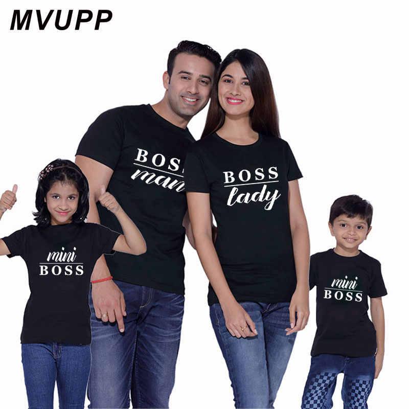 男性女性ミニボス家族マッチング服衣装母父ママ娘息子ドレス tシャツベビーと私のお父さん