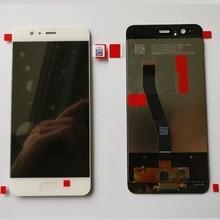 Originale 5.1 pollici Per trasporto libero di Huawei P10 DIsplay LCD + Touch Screen Digitizer Assembly di Ricambio Per VTR AL00 VTR L09 VTR L29 VTR TL00
