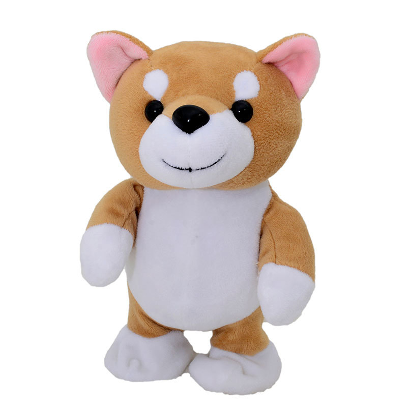 Robot Talking Dog Sound Control Interactive Puppy Electronic Plush Teddy Pet  Walk Music Appease Toys For Children Birthday Gift