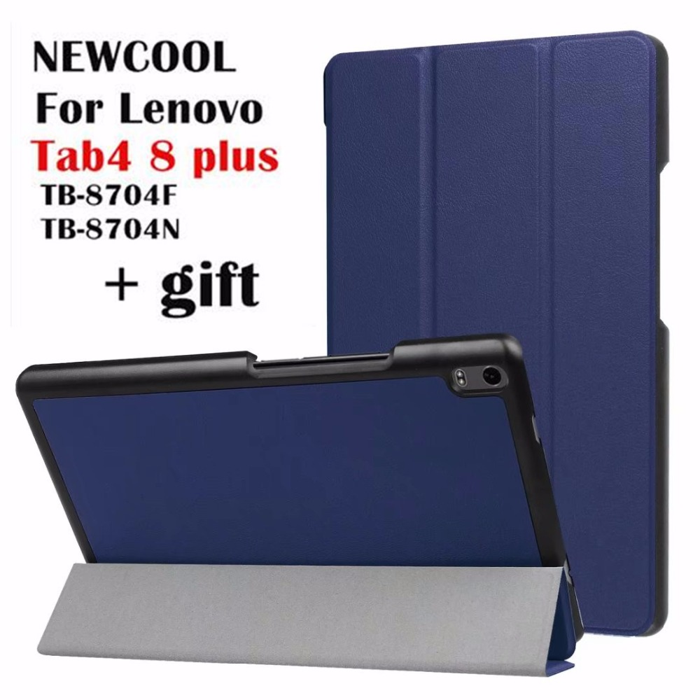 Case For Lenovo Tab 4 8 plus TB-8704 Leather case smart Cover for Lenovo TAB4 8 plus TB-8704F TB-8704N tablet Case Flip Cover new design high quality pu leather sleeve bag case for lenovo tab4 8 plus tb 8704f tb 8704n tablet pouch stand cover
