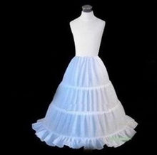3 Hoops Short Petticoat for flower girls first comm Crinoline Underskirt Wedding Dress Skirt Slips Waist adjustable