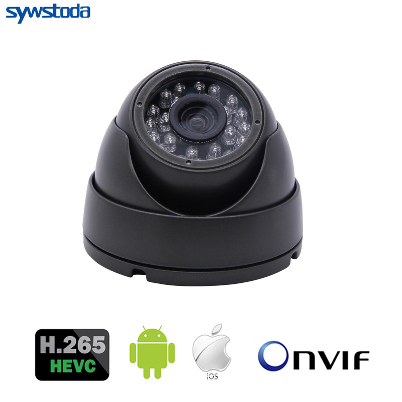 New HD H.265 IP Camera 1080P 5MP Security Small indoor white Mini Dome Surveillance CCTV Onvif WebCam ipcam ...